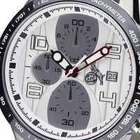 Chronograph schwarz-metallic (4)