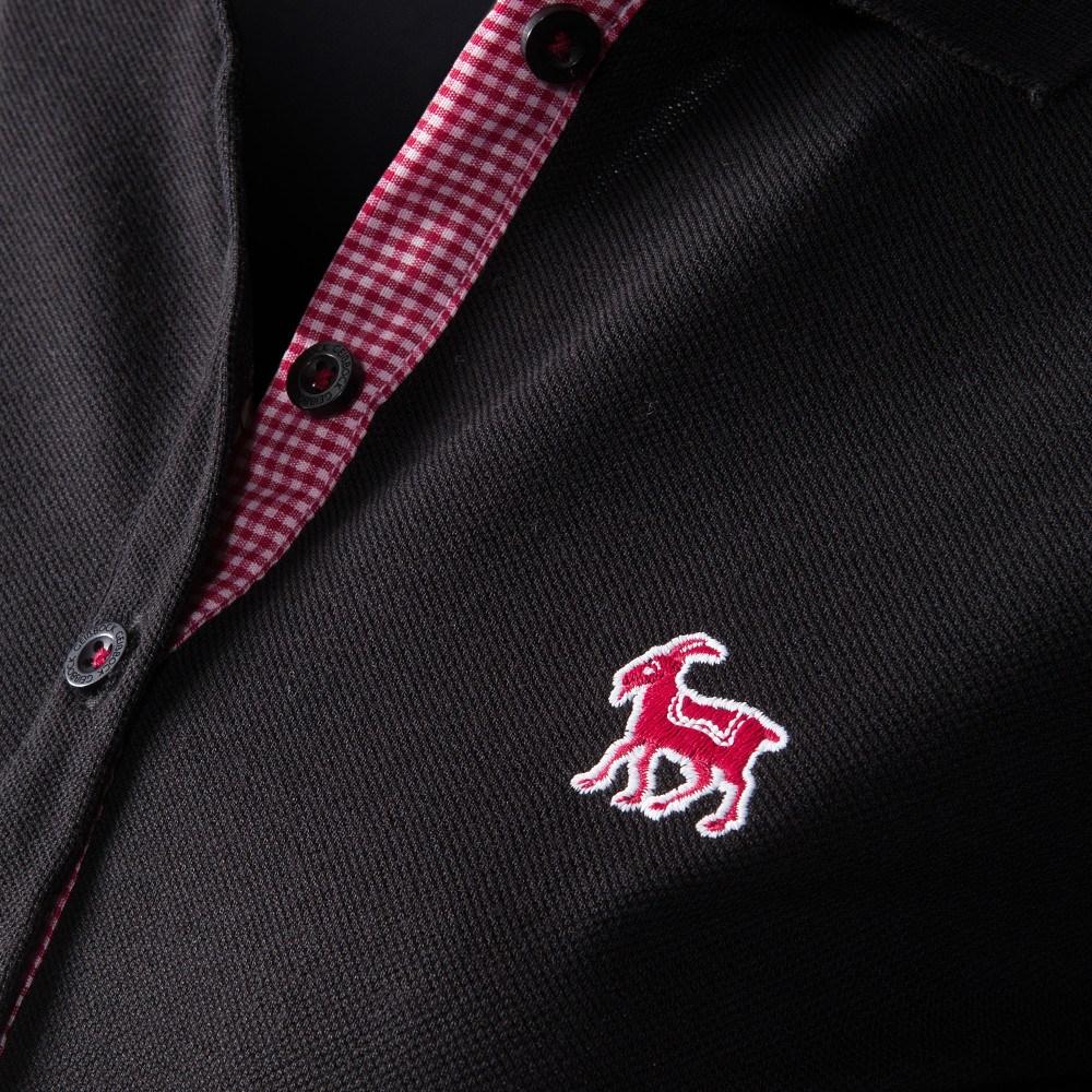 bdeeee946ee6 GB Damen Polo schwarz   Frauen   T-Shirts   Jetzt im Fanshop bestellen