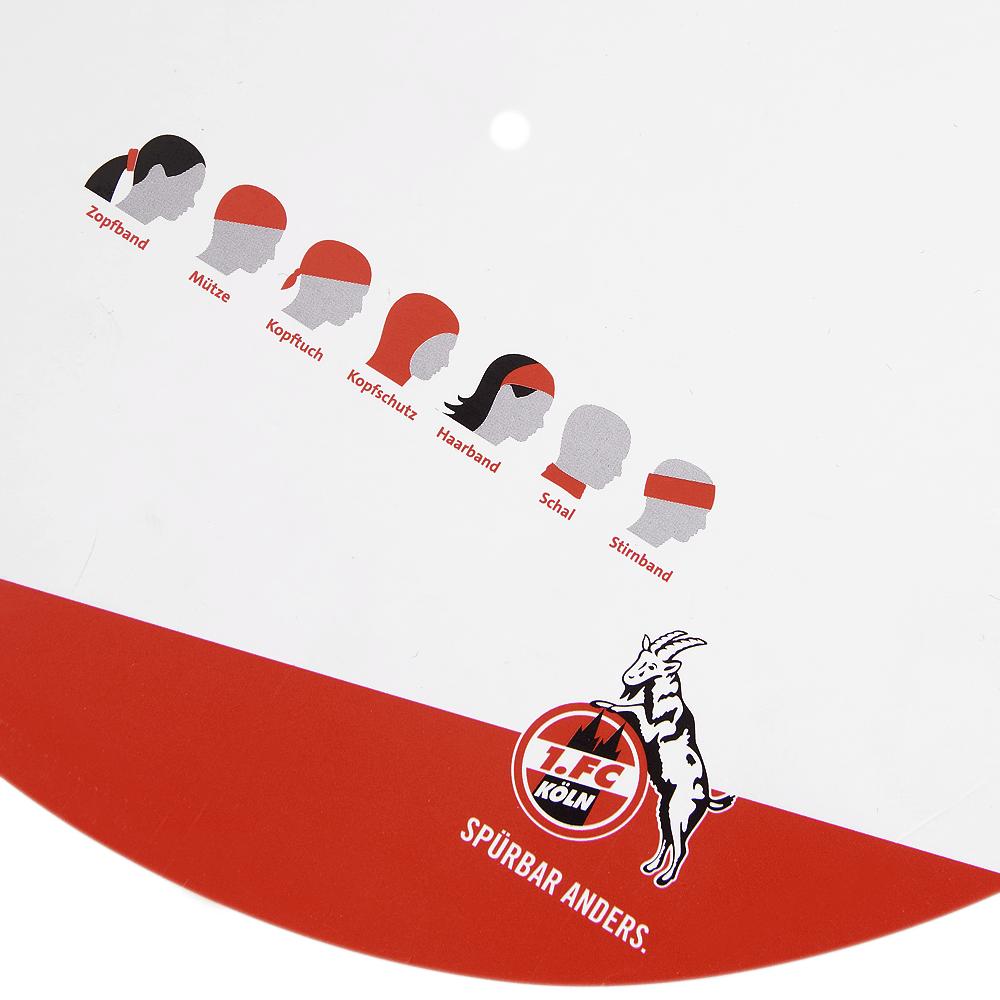 FC Köln Multifunktionstuch Tuch rot 1