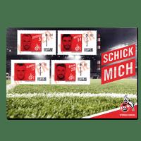 """FC-Briefmarke """"Spieler"""" (3)"""