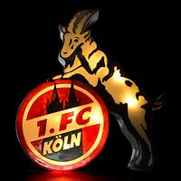 Zimmerlampe in Logoform (3)