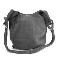 Wildleder- Shopper Handtasche (4)